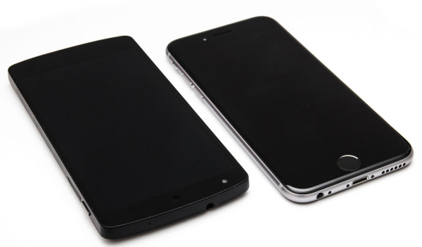 Nexus 5 - Iphone 6